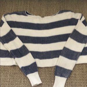 Free People short cotton sweater